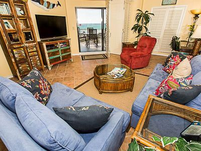 Photo for Beautiful 2 BR on the beach Top Floor