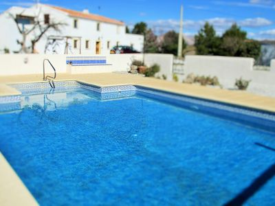 Photo for One bedroomed, self contained apartment with swimming pool.
