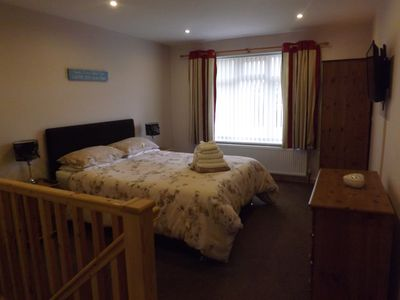 Photo for Luxury Spacious Two Floor Holiday Apartment in Dawlish, near to Dawlish Warren