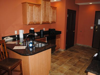 Photo for Beautiful 3 Bedroom Condo, Summer bookings include up to 12 Noah's Ark passes