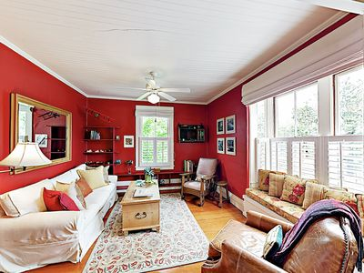 Photo for New Listing! Charming Apartment w/ Private Deck - 1 Block to State St