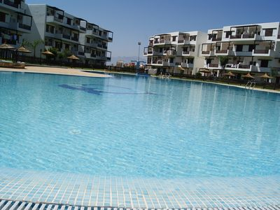 Photo for Very nice luxury apartment in residence with pool Cabo Negro
