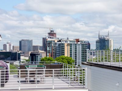 Photo for Brand New Home In Downtown Nashville. Rooftop Views Of Nashville Skyline.