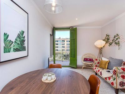 Photo for Renovated flat in a relaxed area next to Fira BCN