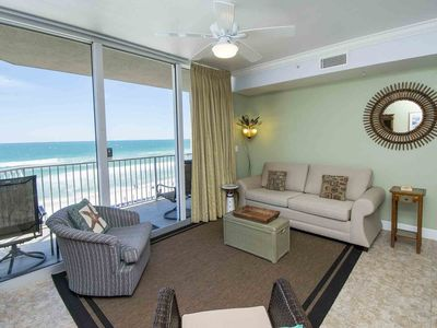 Photo for Beachfront Tidewater ~ Magnificent 1 BR Condo Overlooking the Gulf of Mexico!