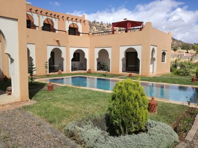 Photo for Beautiful Riad Asmaa near Agadir (10kms).  Large private pool. 5 bedrooms