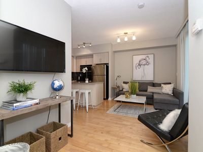 Photo for 2BDRM + Parking + Sofabed -MTCC, Jays, CN Tower