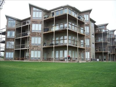 Photo for Best Rates! Best Lake View! Bridges Bay Condo #104. Walkout Unit, Waterpark-Pool