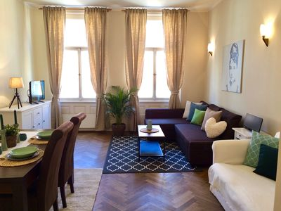 Photo for Charming & Quiet 2 Bedroom Apt. Few Steps from Old Town Square