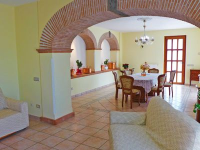 Photo for Stunning private villa for 8 people with private pool, A/C, balcony and parking