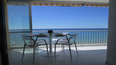 Photo for Costa Blanca Calpe Beautiful apartment on the beach !!
