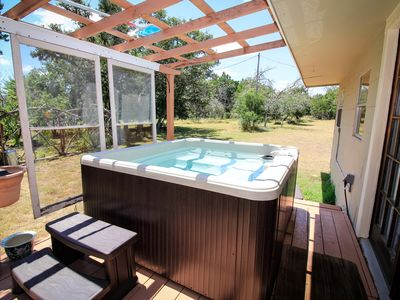 Photo for Bandera's Ranch House ~ Hot Tub ~ Country Living