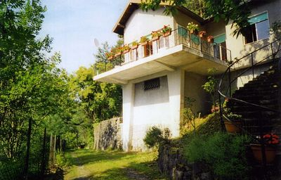Photo for Villa with a stunning view of the Mediterranean Sea & sea alps, pets welcome.