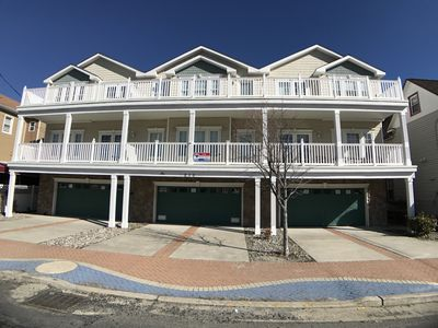 Photo for 3 Bedroom 2 Bath Top Floor Condo in Walking Distance to Beach and Attractions