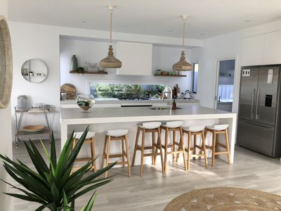 Kitchen with butlers pantry and state of the art appliances