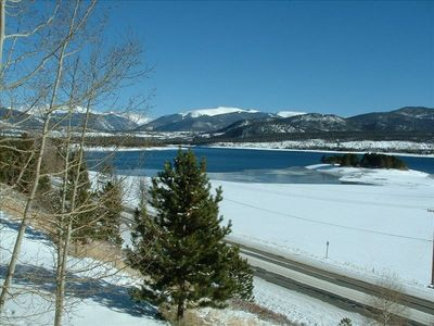 Photo for Magnificent Views from Lake Dillon Luxury Condominium