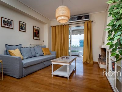Photo for 119m² Luxury Seafront Apartment in Voula