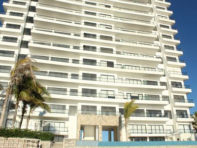 Photo for Amazing! New Spacious Beachfront 3BR Condo in Pearl Tower