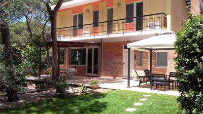Photo for Duplex Villa Ermione Close to Beach with Terraces, Garden, Wi-Fi & Air Conditioning; Parking Available