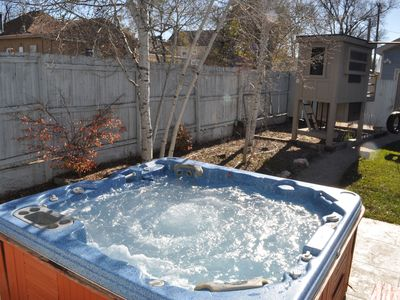 Photo for CENTRALLY LOCATED WITH PRIVATE YARD AND HOT TUB