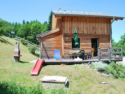 Photo for Cosy new log cabin amidst idyllic ski, walk, mountain bike region or to relax