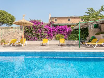 Photo for Villa in Felanitx with pool, barbecue, 3 bedrooms, 3 bathrooms and wifi.