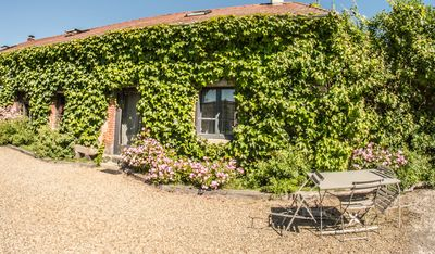 Photo for The Cottages of Berger, farm cottage with jacuzzi and sauna