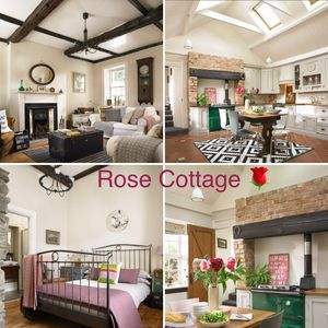 Rose Cottage has a lot of history, character and charm (1 bedroom, 1 sofa bed)