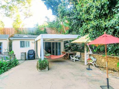 Photo for Private Guest house in the hills + Patio/Garden & parking