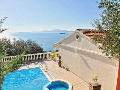 Photo for Villa Theodora: Welcoming villa with private pool offering stunning views to the sea