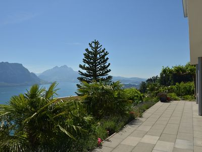 Photo for Exclusive villa with breathtaking panoramic view, close to Lucerne