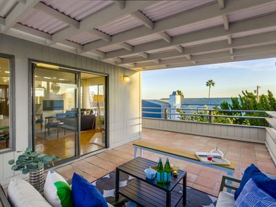 Large balcony 1 BR Guesthouse in Pacific Beach