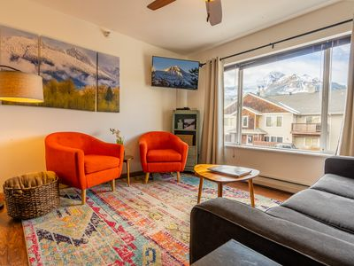 Photo for Beautifully Updated Mountain Condo with Lone Peak Views - Big Sky! Ski home!