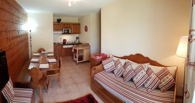 Photo for A lovely ground floor apartment with shared indoor & outdoor swimming pool.