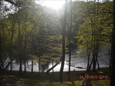 Photo for Relax and play on the Hiwassee! Riverfront Guest House 1 Bedroom + Loft