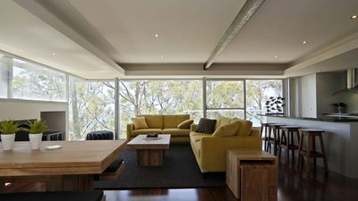 Your living area with amazing views.
