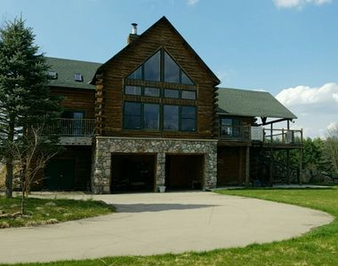 Photo for 35 Acre Pure Michigan Retreat - Amazing views/Hot tub/Wet&Dry Saunas/Fire-pit!
