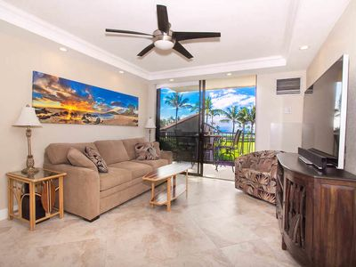 Photo for Maui Escape with Lanai Dining, Full Kitchen, Shared Pool - Very Close to Beach