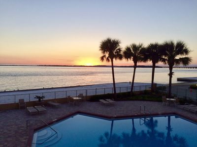 Photo for Beach front, ocean view, family-friendly (all ages), boat slip, tranquil setting
