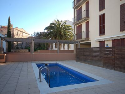 Photo for LOVELY POOL APARTMENT with PARKING