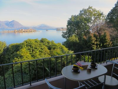 Photo for Rashad apartment with lake view in Baveno