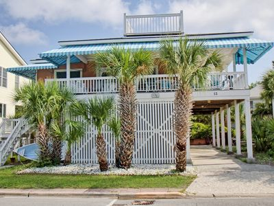 Photo for Four houses from the beach with a wrap around porch for relaxing