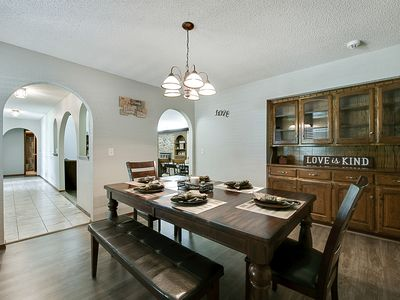 Photo for Just Like Home #2 in NW Oklahoma City, great for groups: 2 living, 2 dining