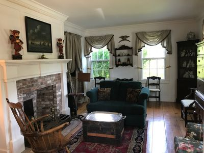 Intimate Front Parlor