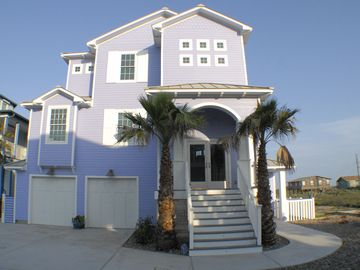 6 bedroom 6 bath Beachfront Home w/ocean views + boardwalk and neighborhood pool