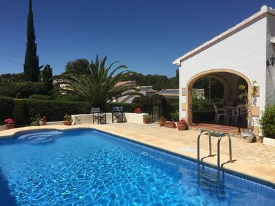 Photo for Lovely Costa Nova Villa close to Granadella beach. Private pool, WIFI & Air Con