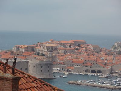 Photo for Apartment is near Old town with amazing view on it and island Lokrum.