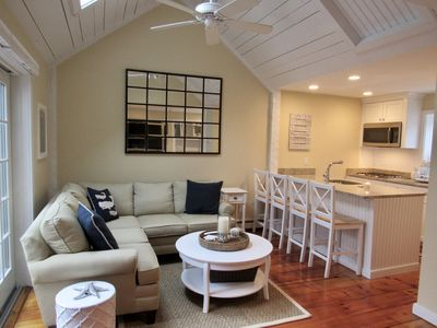 Photo for Maushop Beach Cottage- New Seabury Resort, Steps to Private Beach!