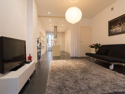 Photo for Stylish studio apartment, for up to four people, located in the Nieuwmarkt area, in the historical c