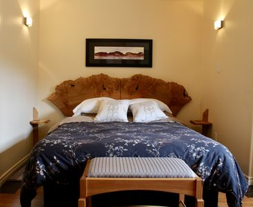 Photo for the Artful Suite - boutique accommodation with handmade furnishings & art.